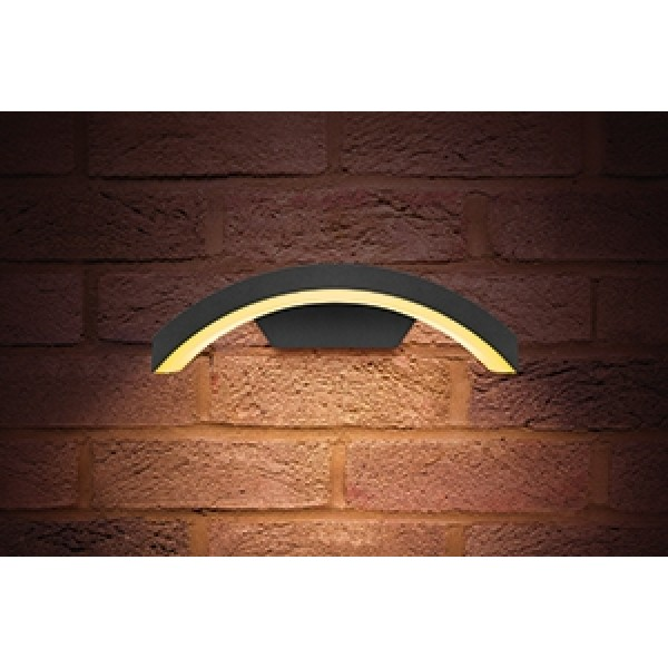 Curved Outdoor Led Wall Light 7 5w Ip54