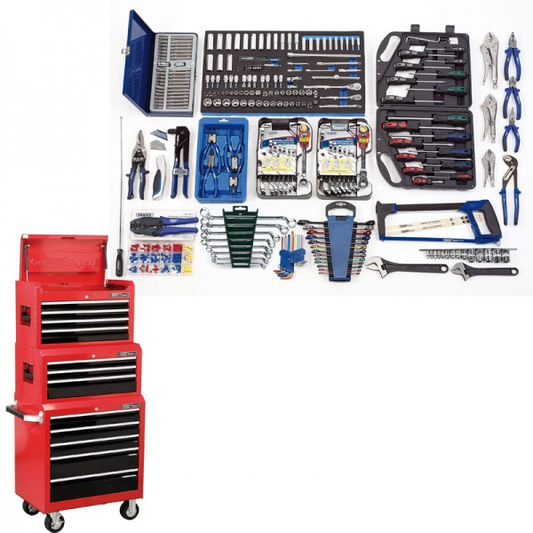 Draper Workshop Deluxe Complete Tool Kit Box