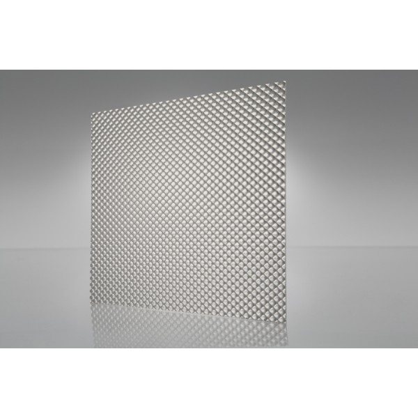 Micro Prism - Prismatic Ceiling Light Diffuser Clear 600mm