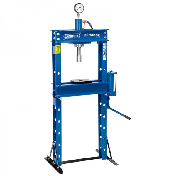Draper 20 Tonne Hydraulic Floor Press