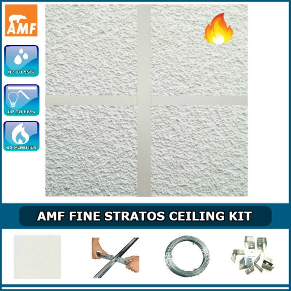 AMF Thermatex Fine Stratos & 100mm Thick Thermal Insulation Kit