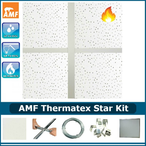 best sneakers a655b 6ca8b AMF Thermatex Star Kit (60 min fire rated) Including Lights