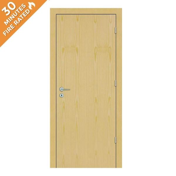 FD30 Single Ash Fire Rated Door