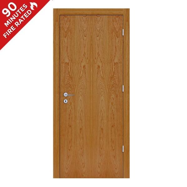 FD90 Single Cherry Fire Rated Door