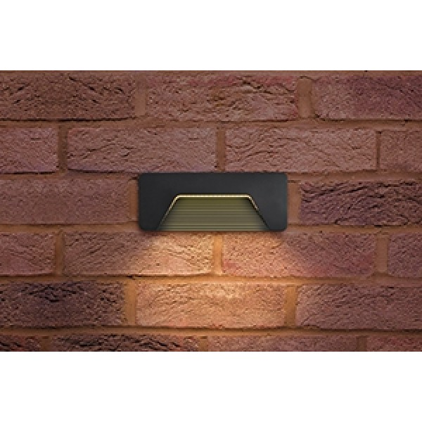 Outdoor PathLux Brick LED Wall Light 3W IP65