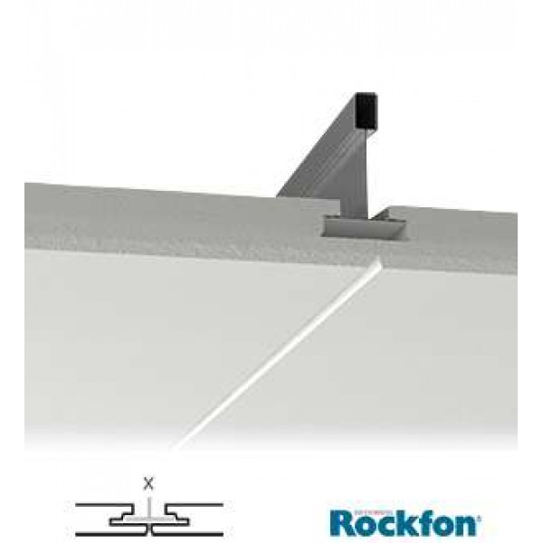 Rockfon Blanka X Edge Grid Concealing Tile