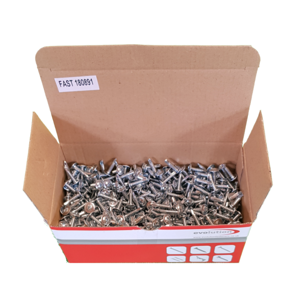 Box of 1000 Self Drilling Teg Screws