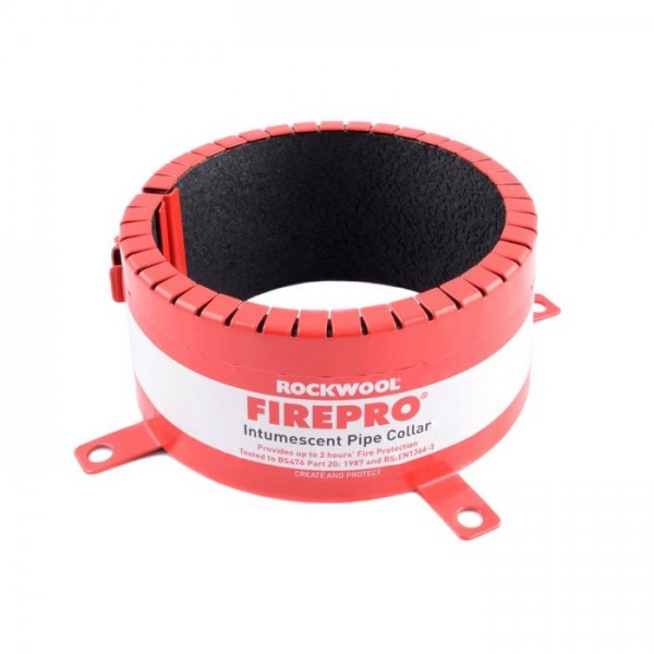 Rockwool 82mm Pipe Collar - 2 Hour Fire Rated